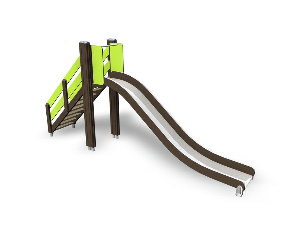 Slide with stairs