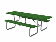 HANSA PICNIC TABLE, EXTENDED TABLE TOP