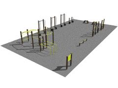 Streetworkout & Fitness area 2