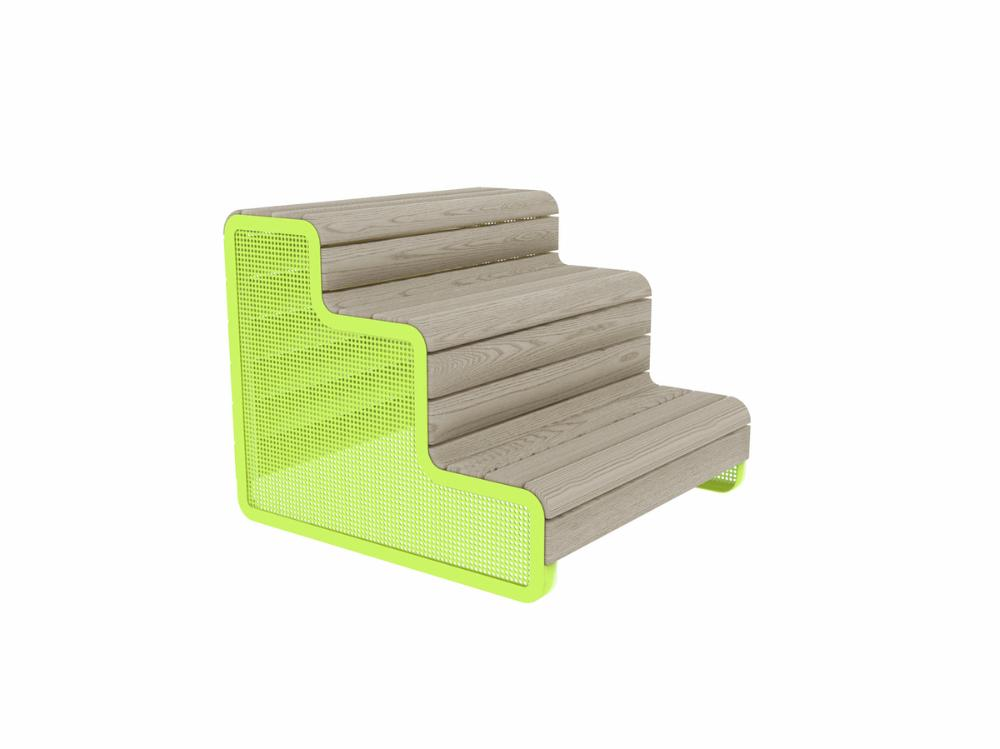 CHILLOUT STAND, DEEP MOUNTING WITH FOUNDATION PLATES