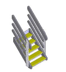 701550 STAIRS, +870 GREY