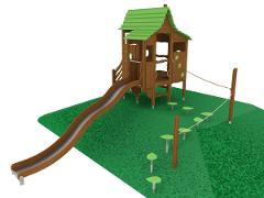 PLAY HOUSE ON HILL